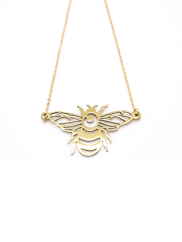 Hansel & Smith - Bumble Bee Necklace
