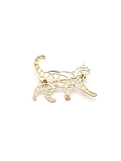 Hansel & Smith - Cat Brooch