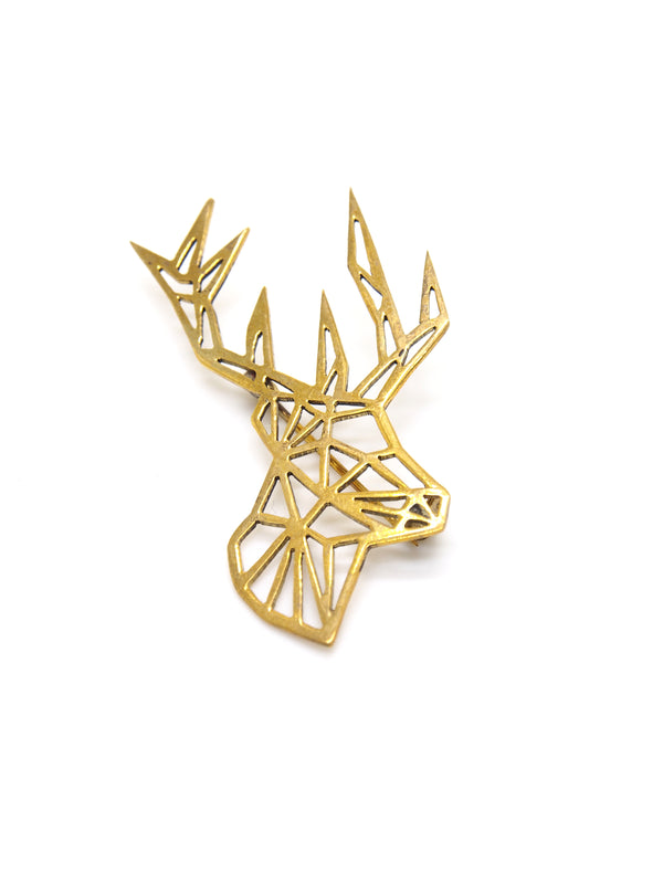 Hansel & Smith - Reindeer Brooch