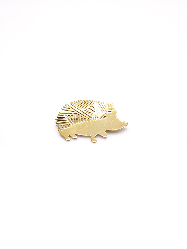 Hansel & Smith - Hedgehog Brooch