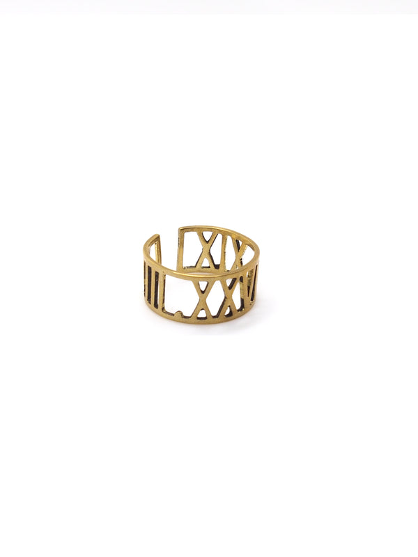 Hansel & Smith - Roman Numerals Ring