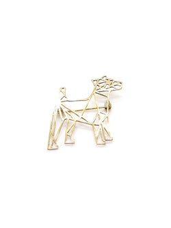 Hansel & Smith - Jack Russell Terrier Brooch