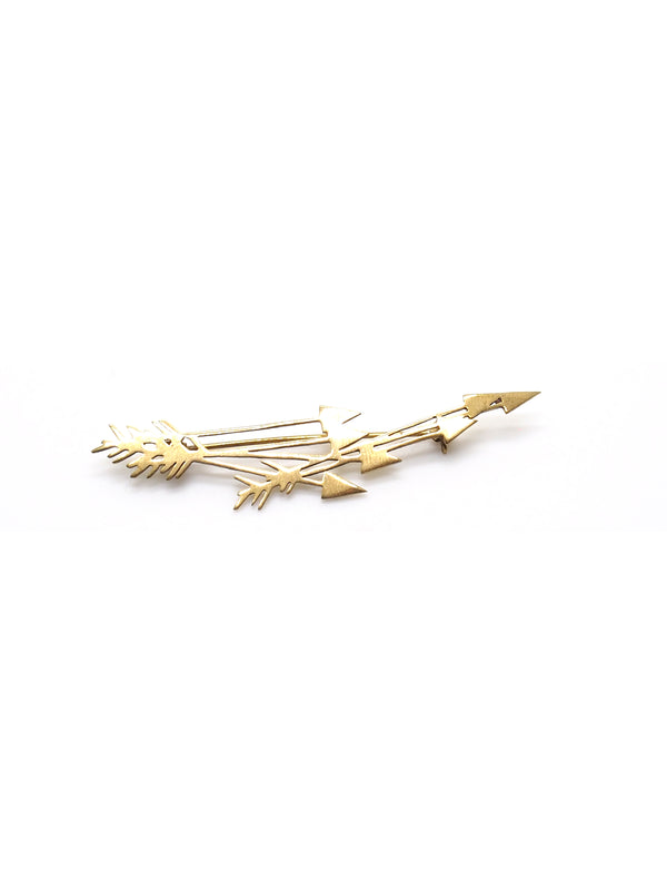 Hansel & Smith - Arrows Brooch