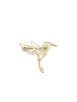 Hansel & Smith - Humming Bird Brooch