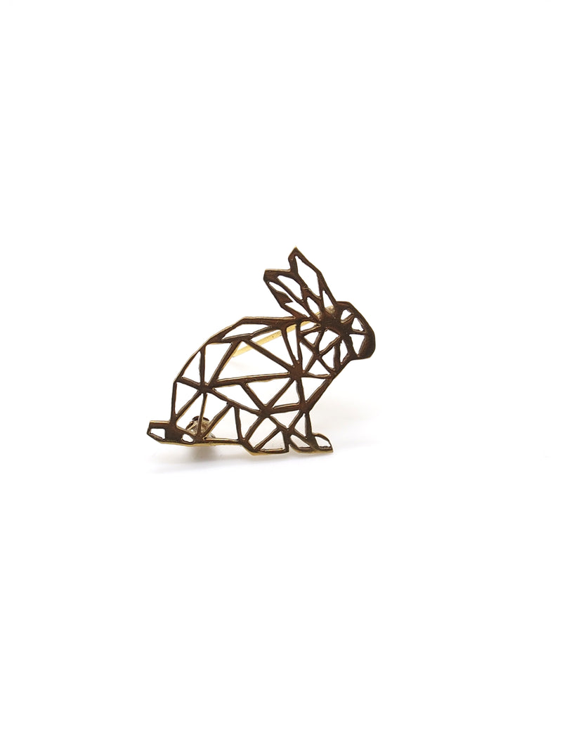 Hansel & Smith - Rabbit Brooch