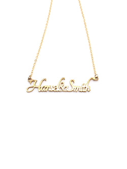 Hansel & Smith - Customise Necklace (hand-sawn)