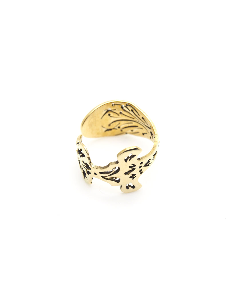 Hansel & Smith - MUSEUM LABEL Spoon Ring