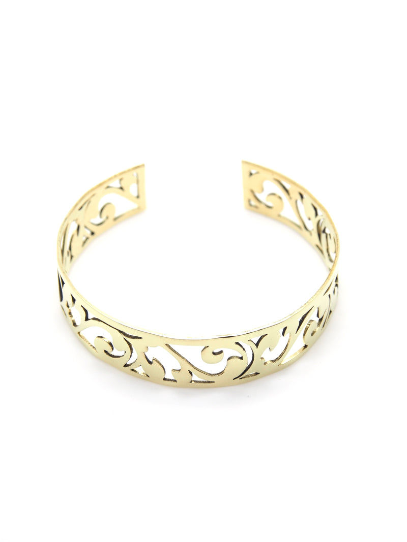 Hansel & Smith - MUSEUM LABEL Finger Bowl Inspired Bangle