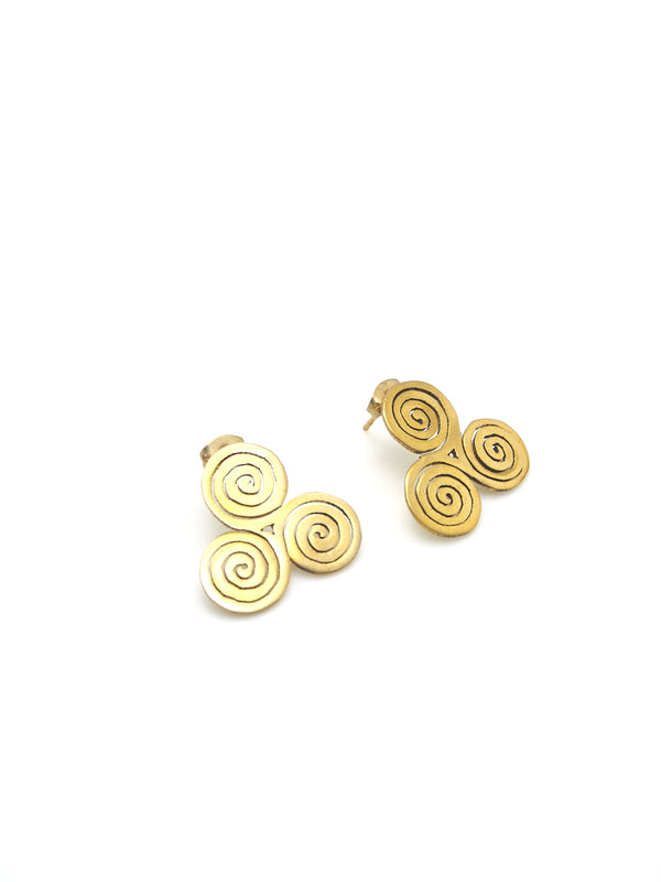 Hansel & Smith - Celtic Triskelion Knot Earrings