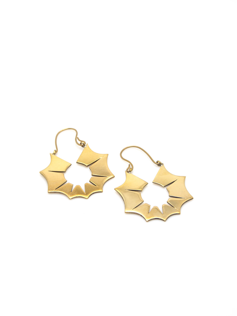 Hansel & Smith - MUSEUM LABEL Java Ornament Earrings