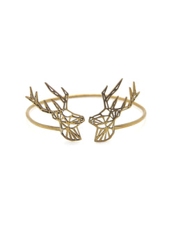 Hansel & Smith - Double Reindeer Bangle