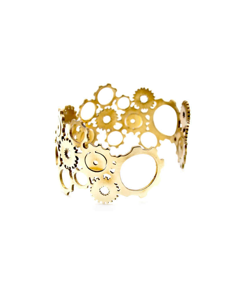 Hansel & Smith - Gear Bangle
