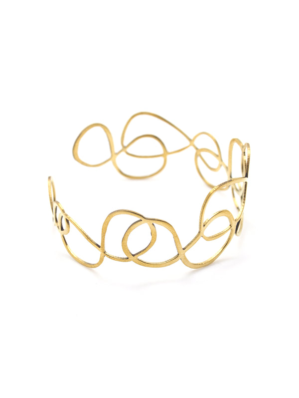 Hansel & Smith - Spiral Bangle