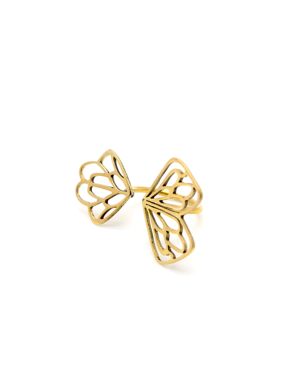 Hansel & Smith - Butterfly Ring (Adjustable)