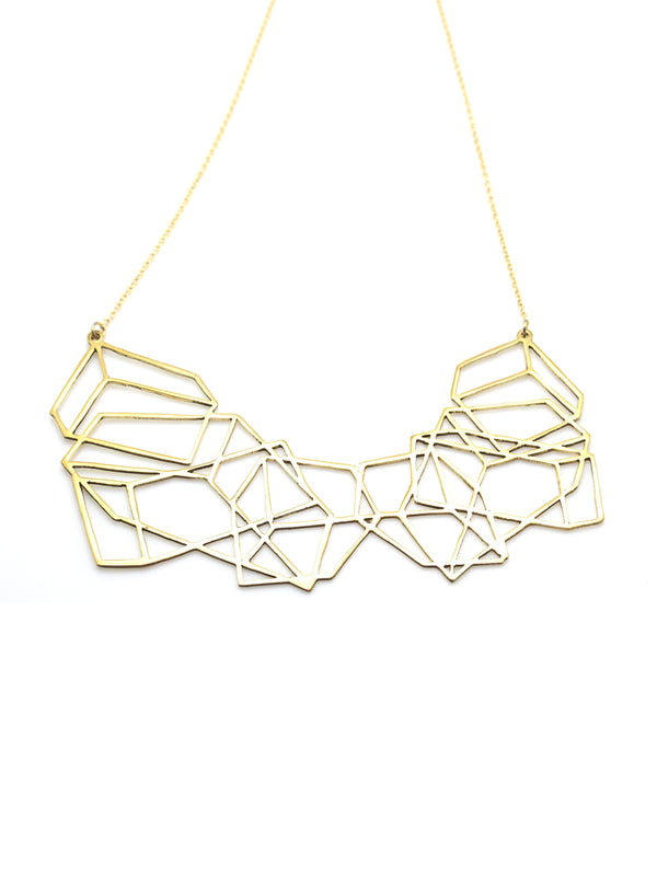 Hansel & Smith - Geometric Random Box Necklace