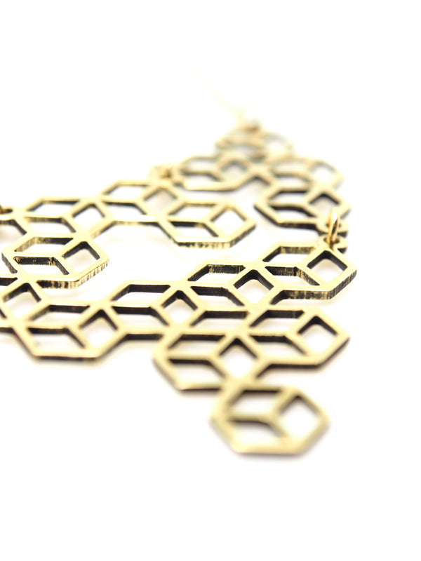 Hansel & Smith - Tetris Mini Necklace