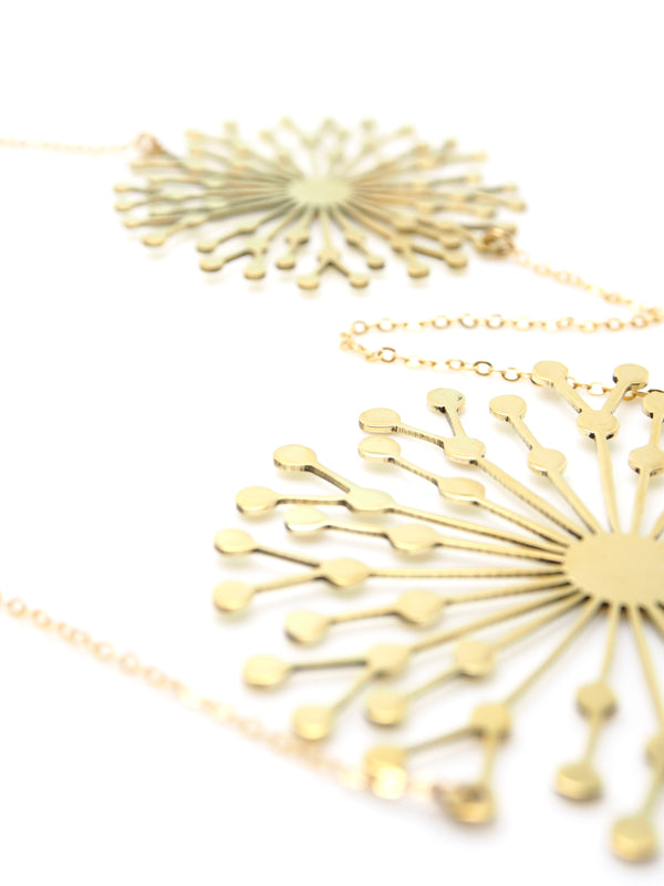 Hansel & Smith - Dandelion Necklace