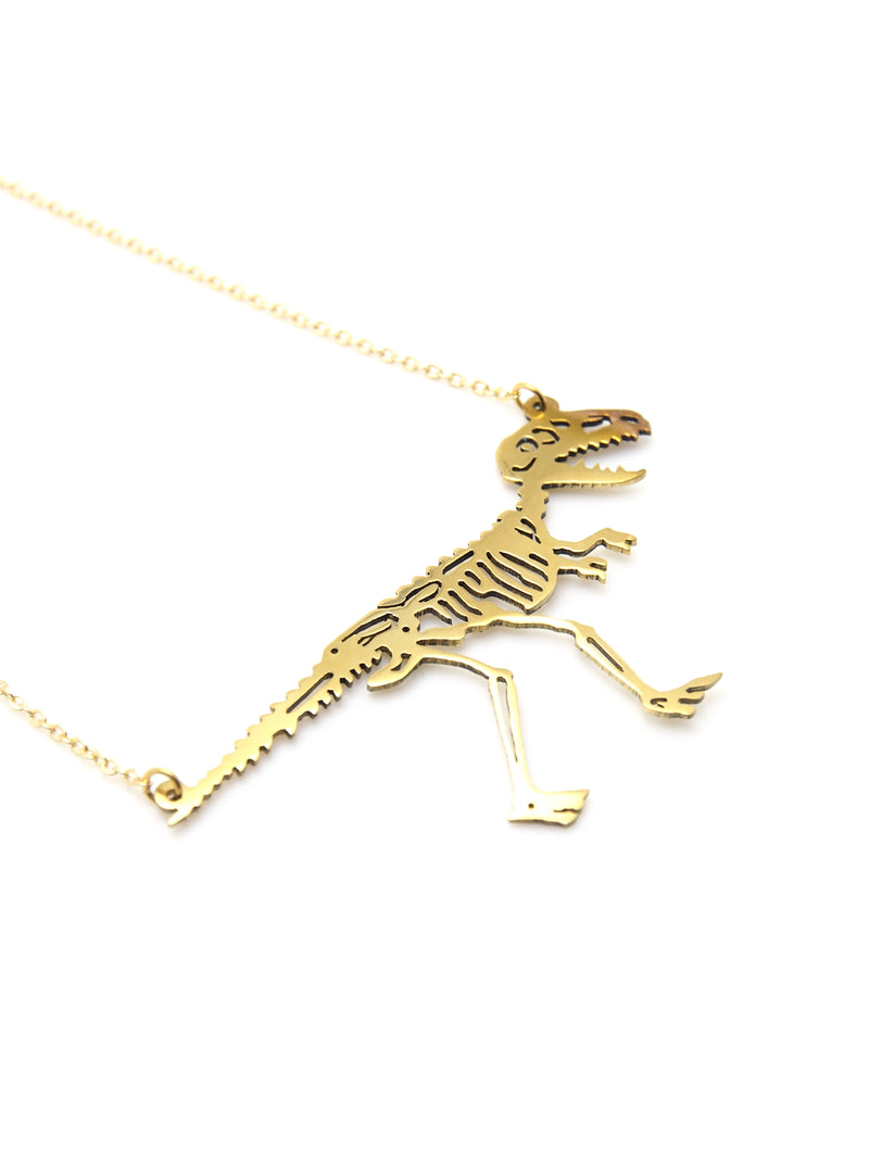 Hansel & Smith - Dinosaur Necklace