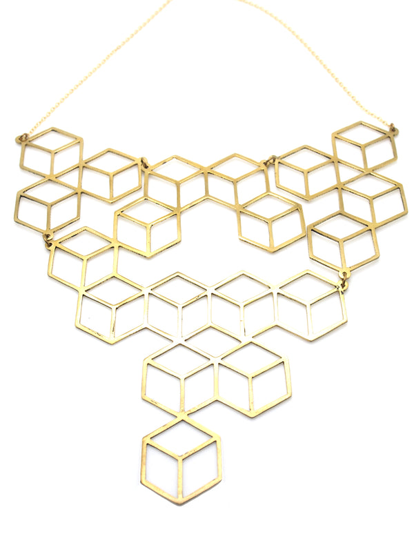 Hansel & Smith - Tetris Large Necklace