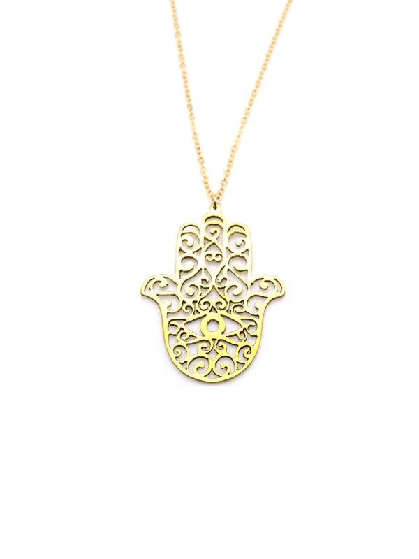 Hansel & Smith - Hamsa Necklace