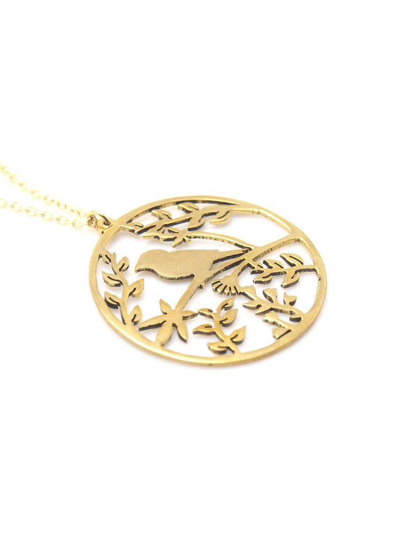 Hansel & Smith - Chirping Bird Necklace