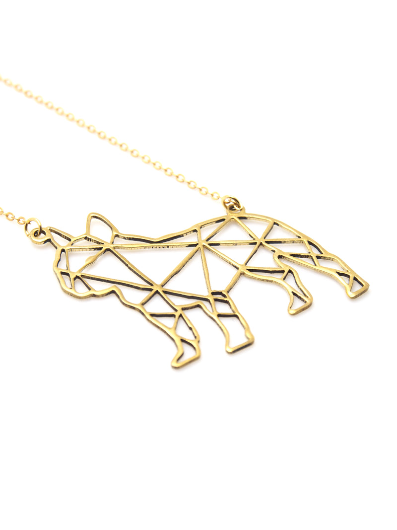 Hansel & Smith - French Bulldog Necklace
