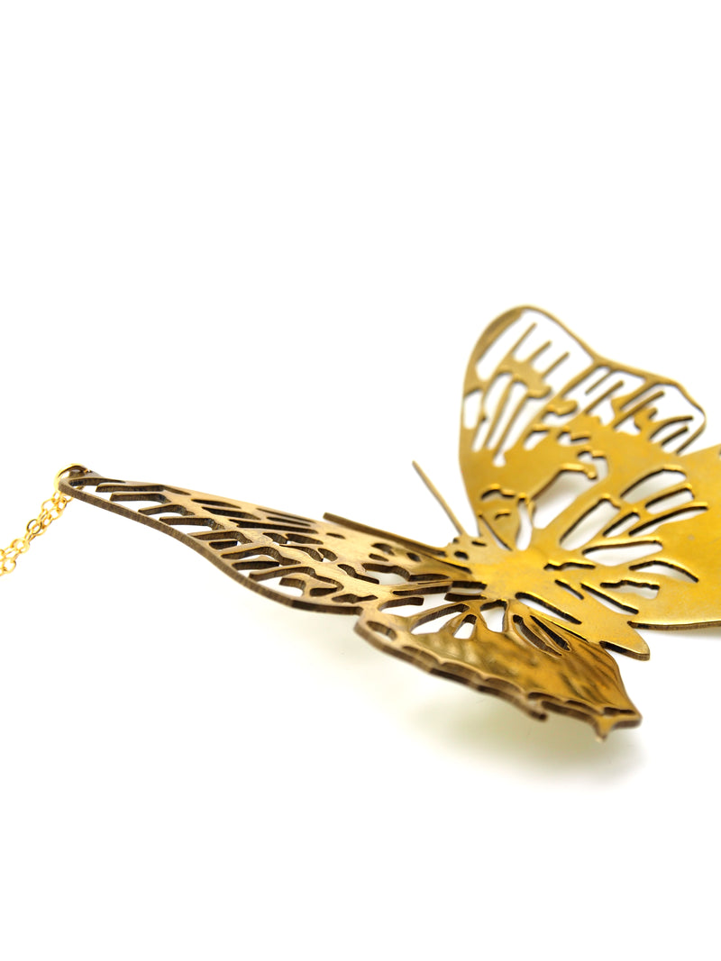 Hansel & Smith - Classic Butterfly Necklace