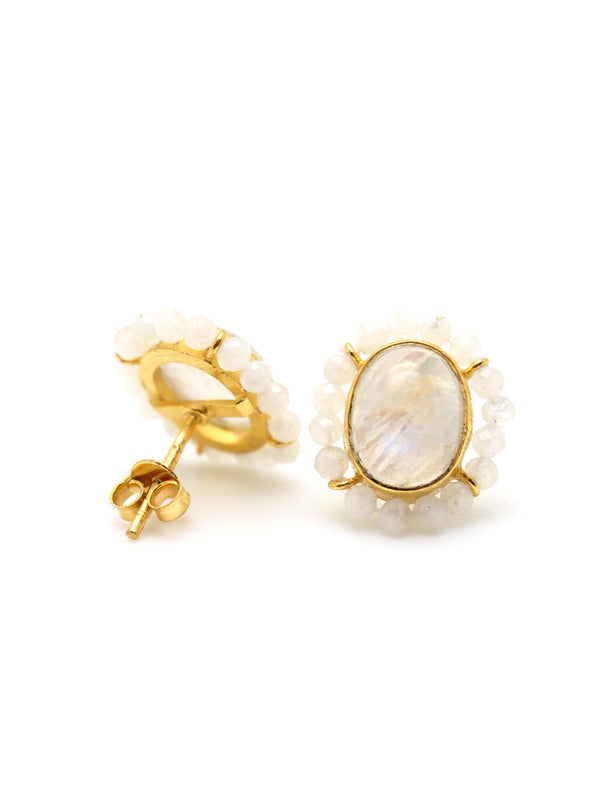 Amebelle & Co. - Maddalyn Moonstone Earring
