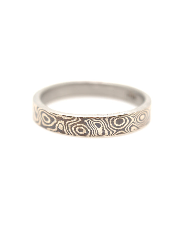 Mokumegane Classic Ring (3mm)