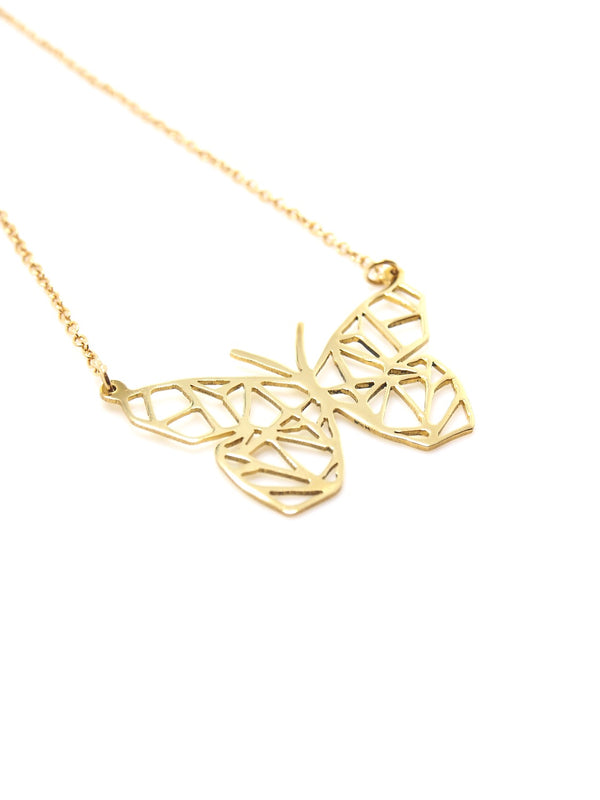 Hansel & Smith - Small Butterfly Necklace