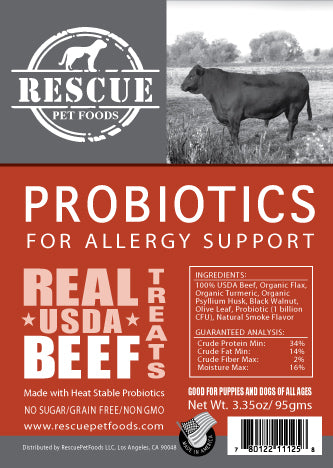 Allergy Relief Probiotic - USDA Beef