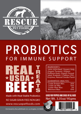 Immune Support Probiotic - USDA Beef