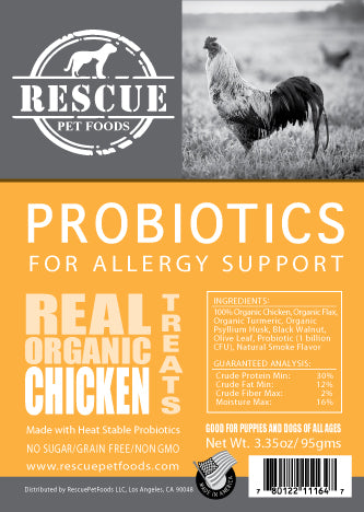 Allergy Relief Probiotic - Organic Chicken
