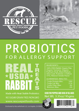 Allergy Relief Probiotic- USDA Rabbit
