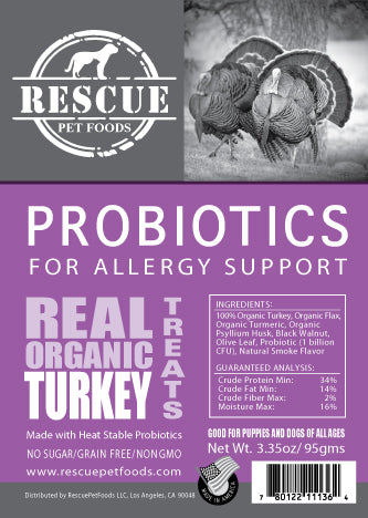 Allergy Relief Probiotic- Organic Turkey