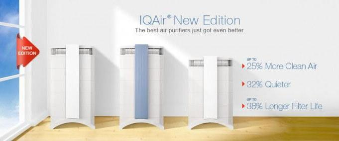 iq air air purifiers