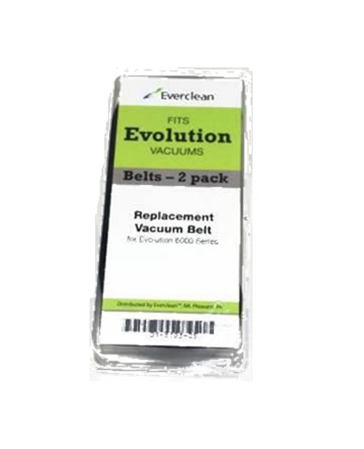 Evolution Upright Vacuum Cleaner Flat Belts 2 Pk Genuine Part 01-3103-05