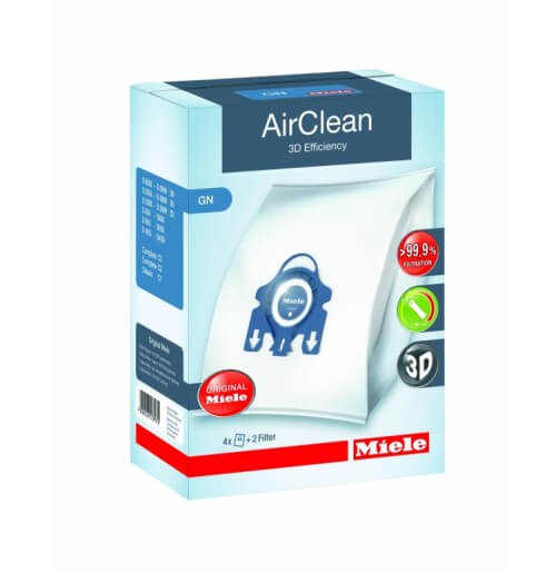 Miele Type GN  AirClean 3D Efficiency Filter Bags Part 10123210