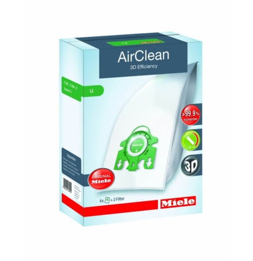 Miele Type U AirClean 3D Efficiency Dustbags Part 10123230