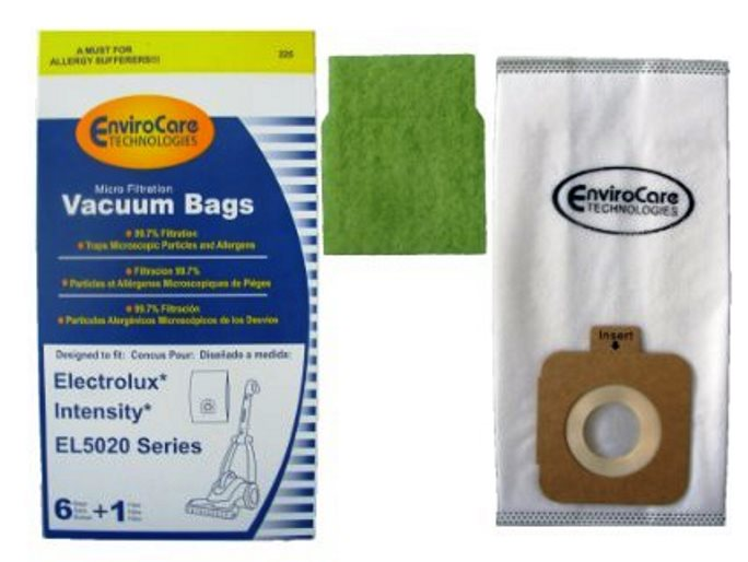 6Pk, Eureka Electrolux El5020-Intensity, Paper Bags, Part 225