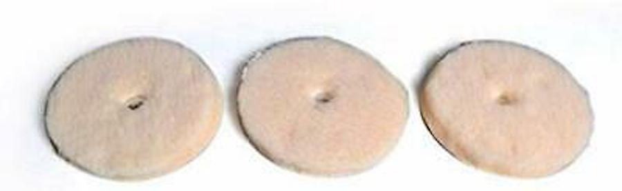 Electrolux Pads, Lambs Wool Polish Electrolux, Metal Snaps, 3Pk Part 26-3800-05