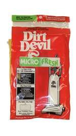 Royal Dirt Devil Filter, Micro Fresh Dirt Devil Upright (Pack of 2) Part 3747130001