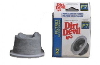 Dirt Devil Royal F-7 Extreme Power Vacuum Filter 2PK OEM Part 3ME2190001