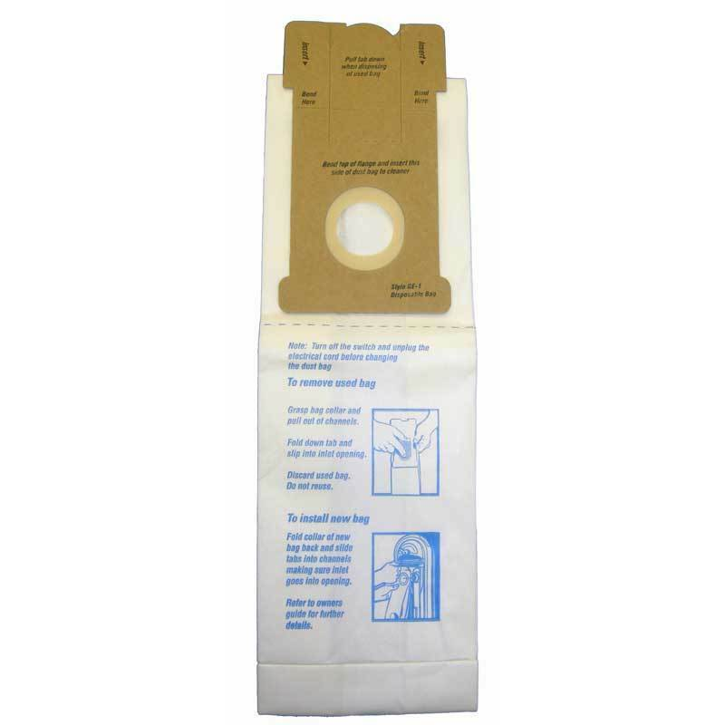 3PK, GE-1, WALMART UPRIGHT-MICROLINED, PAPER BAGS 155
