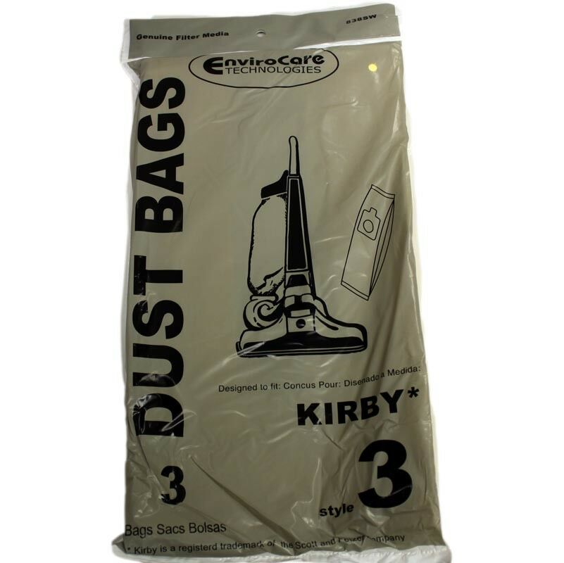 3PK KIrby Upright Heritage II Style 3 Paper Bags part 838sw-1