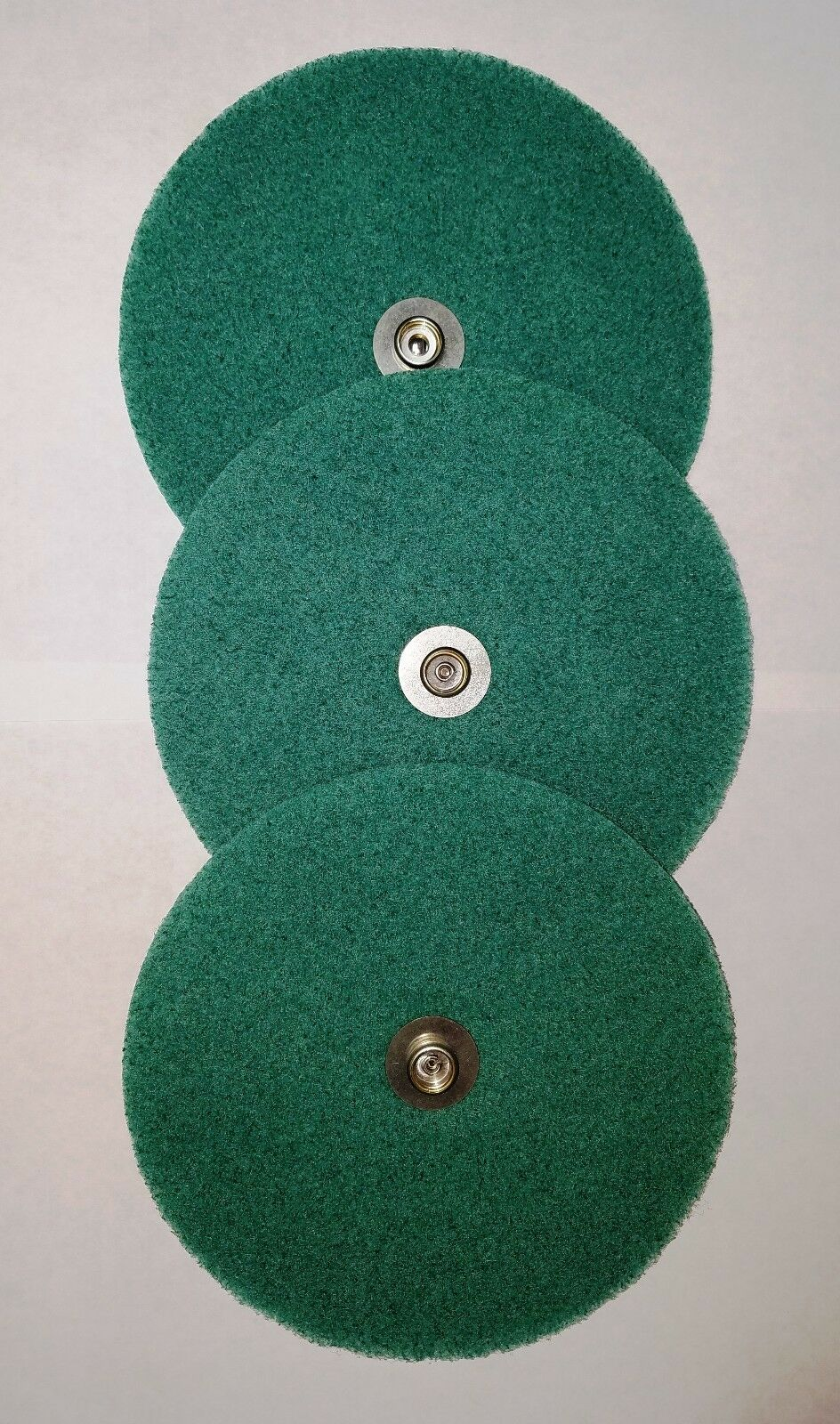 3pk Scrub Pads Green, for Electrolux Polisher Replaces part 6938 Part 26-3802-01