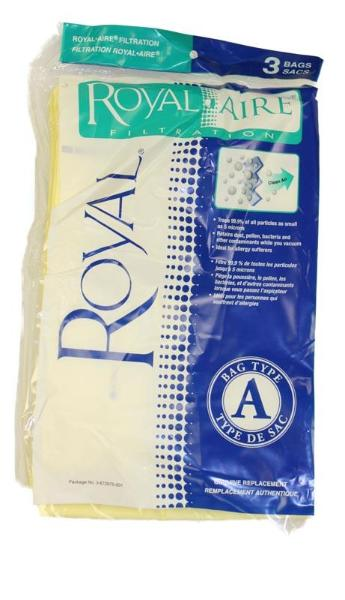 Royal Vacuum Bags 3pk Part 3672075001