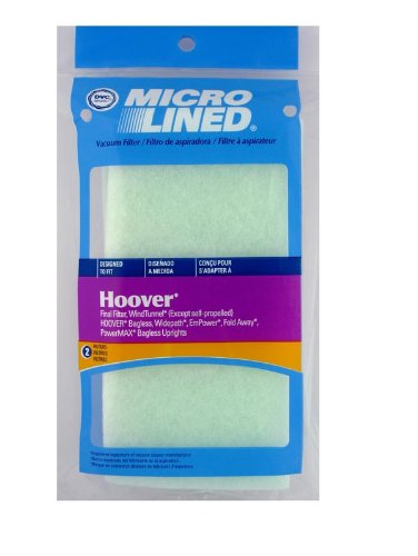 DVC for Hoover WindTunnel Final Filter 2 Pack Part 471119