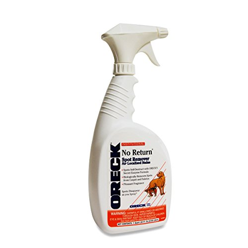 Oreck Cleaner, Pet No Return Spot Remover 32oz Part 38173