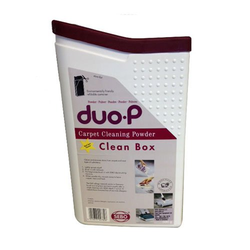 Sebo Duo-P Carpet Cleaning Powder Refill with Built in Spot Brush 1.1 LBS Part 0478AM